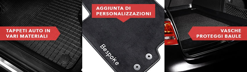 Per BMW 3er e30 Touring Tappetino BAGAGLIAIO BAULE VELLUTO Deluxe Nero