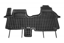 Tappetini Nissan NV300 van (anteriore - 3 posti) 2016- gomma vaschetta